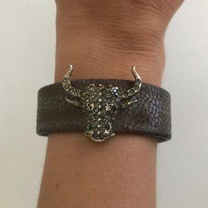 Tasha Bull Bracelet